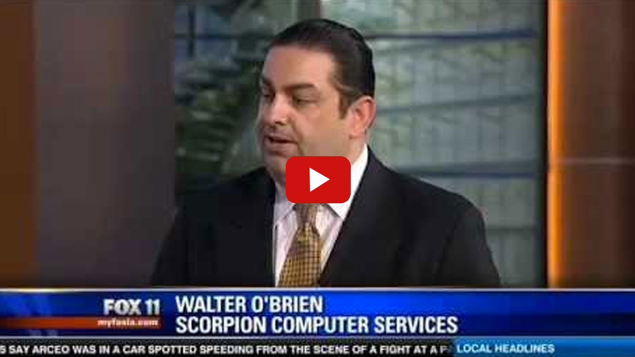 Walter O'Brien, Scorpion Computer Services on Boston Bombing Video Forensics